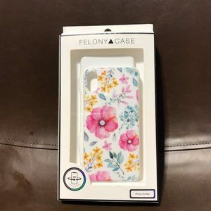 NEW Felony Case Floral IPhone XS Max